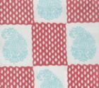 5090-04SUN BANGALORE New Blue New Shrimp Quadrille Fabric