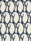 9060-11 CARNA Navy on Tint Quadrille Fabric