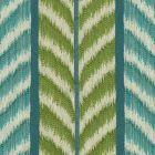 030022T CAROUSEL Green Turquoise Quadrille Fabric