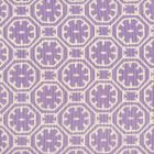 8155-08 CEYLON BATIK REVERSE Purple on Tint Quadrille Fabric