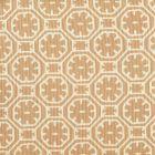 8155-12 CEYLON BATIK REVERSE Tan on Tint Quadrille Fabric