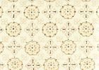 306301F CRAWFORD Multi Taupe Brown on Cotton Linen Quadrille Fabric