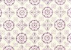 306304CTTN CRAWFORD Multi Lavender  Quadrille Fabric