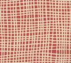AC403-17VSUN CRISS CROSS Shrimp  Quadrille Fabric