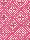 2500-11 FIORENTINA TWO COLOR Fuschia Magenta Quadrille Fabric