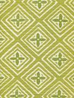 2500-05 FIORENTINA TWO COLOR Jungle Green Pistachio Quadrille Fabric