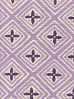 2500-16 FIORENTINA TWO COLOR Lavender Purple Quadrille Fabric