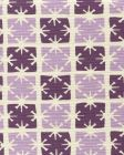 8090-05 GEORGIA SMALL SCALE Lilac Purple on Tint Quadrille Fabric