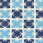 8090-07 GEORGIA SMALL SCALE Sky Navy on Tint Quadrille Fabric