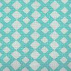 AC920-07 HANDSTITCH Turquoise Quadrille Fabric