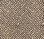 4010-16 JAVA JAVA Brown on Tinted Linen Cotton Quadrille Fabric
