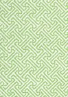 3080-03 JAVA JAVA Jungle Green on White Linen Quadrille Fabric