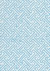 3080-05 JAVA JAVA New Blue on White Linen Quadrille Fabric