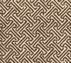4010-38 JAVA JAVA New Brown on Tinted Linen Cotton Quadrille Fabric