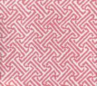 3080-26 JAVA JAVA Pink on White Linen Cotton Quadrille Fabric