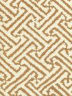 6620-03 JAVA GRANDE Camel II on Tint Quadrille Fabric