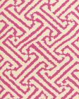 6620-02 JAVA GRANDE Magenta on Tint Quadrille Fabric