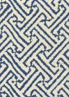 6620-05 JAVA GRANDE New Navy on Tint Quadrille Fabric