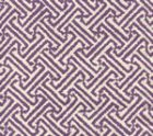 4010-40 JAVA JAVA Purple on Tinted Linen Cotton Quadrille Fabric