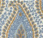 010611S KATMANDU II Blues Camel II Quadrille Fabric