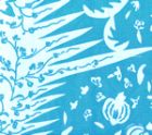 302660F LES INDIENNES Sky on Tint Quadrille Fabric