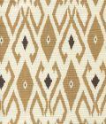 8080-02 LOCKAN Camel Brown on Tint Quadrille Fabric