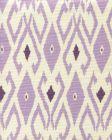8080-07 LOCKAN Lavender Purple on Tint Quadrille Fabric
