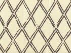6710-06 LYFORD DIAMOND BAMBOO New Brown on Tint Quadrille Fabric