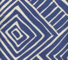 AC206-40 MELINDA Navy on Tint Quadrille Fabric