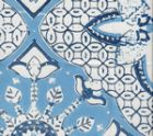 6430-01WSUN NEW BATIK French Blue Navy  Quadrille Fabric