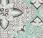 6430-15WSUN NEW BATIK Cloud New Brown on White Quadrille Fabric