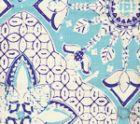 6430-03SUN NEW BATIK Turquoise New Navy  Quadrille Fabric