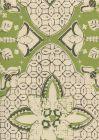 6430-06SUN NEW BATIK New Jungle New Brown Quadrille Fabric