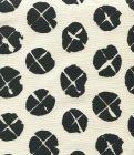 6655-09 OBI II REVERSE Navy on Tint Quadrille Fabric