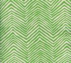 AC303-14 PETITE ZIG ZAG Leaf on Tint Quadrille Fabric