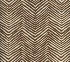 AC303-38 PETITE ZIG ZAG New Brown on Tint Quadrille Fabric