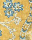 2438-02 RIVIERE ENCHANTEE Saffron Quadrille Fabric