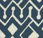 AC107-18 SAHARA Navy on Tint Quadrille Fabric