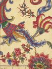 2455-01 TOILE RAYURE DE BERNY Cuivre Quadrille Fabric