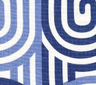 AC210-14 WAVELENGTH Blue on Oyster Quadrille Fabric