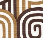 AC210-16 WAVELENGTH Browns on Oyster Quadrille Fabric