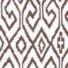 7240-06WP AQUA IV Brown On White Quadrille Wallpaper