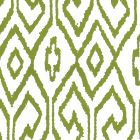 7240-03WP AQUA IV Jungle Green On White Quadrille Wallpaper