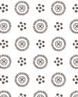 2210-02 CECIL Brown On White Quadrille Wallpaper