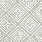 2490-41WP FIORENTINA Gray On Almost White Quadrille Wallpaper
