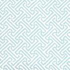 6890WP-07 JAVA JAVA Blue,White Quadrille Wallpaper