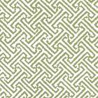 6890WP-12 JAVA JAVA Bali Green On White Quadrille Wallpaper