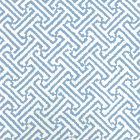 6890WP-16 JAVA JAVA Pacific Blue Almost White Quadrille Wallpaper