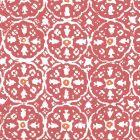 149-52WP NITIK II New Shrimp Orange On Almost White Quadrille Wallpaper