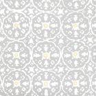 149-54WP NITIK II Polar Gray Cream Quadrille Wallpaper